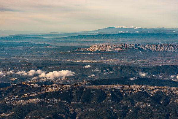 klape mont venoux st victoire sainte baume pic bertagne marseille vue du ciel aerial photography aerienne