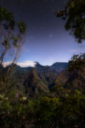 la réunion tourisme mafate cirque klape photo landscape nature tropical night astrophoto