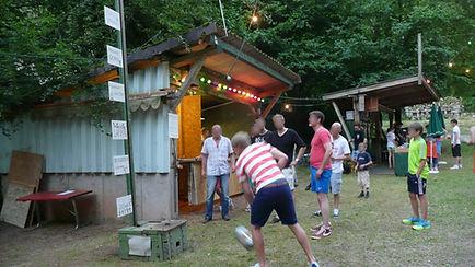 Kräftemessen auf dem Schützenwaldfest, Raustein - Schramberg