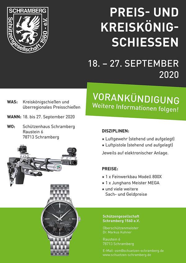 Plakat-Flyer-Kreiskönigsschiessen-Schütz