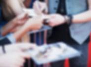 Promi-Signing-Einzelteile für Fans
