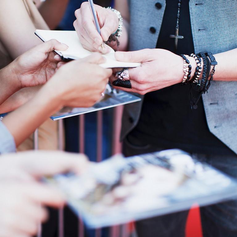 Firma de autógrafos