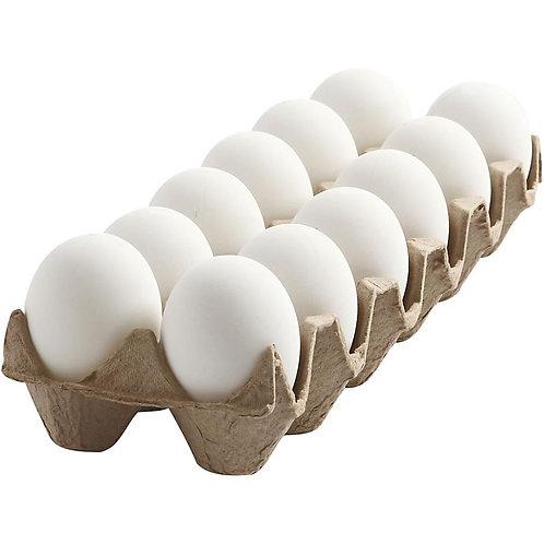 Large White Eggs