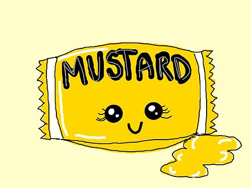 Mustard packets - Menu brand 500 x 5.5 ml