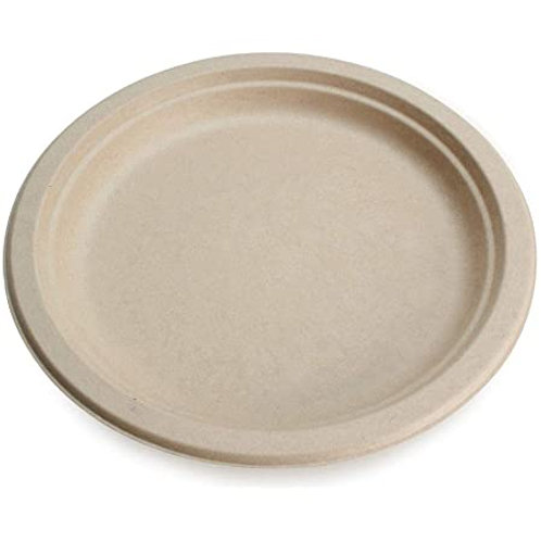 """9"""" Round Plate off White Natural 10 x 50"""