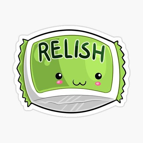 Relish Packets - Menu Brand 500 x 7 ml