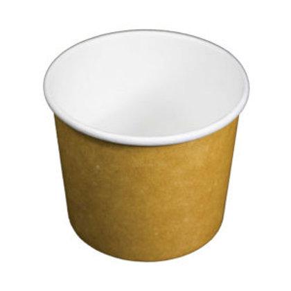 8oz PLA Lined Soup Bowl NAT 20 x 50