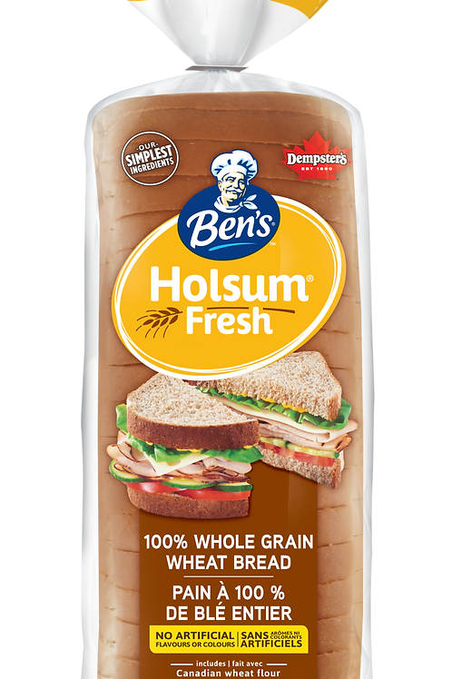 Ben's Whole Wheat Bread