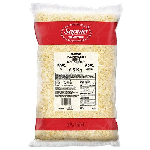 Saputo Shredded Mozza Cheese 2.5 kg