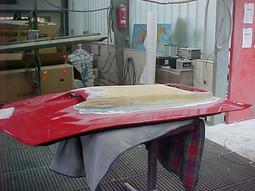 Corvette Kunststoffumbauarbeiten