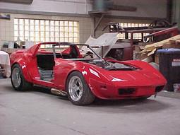 Corvette '76 Komplettumbau