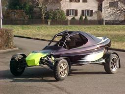 Rally-Cross Fahrzeug