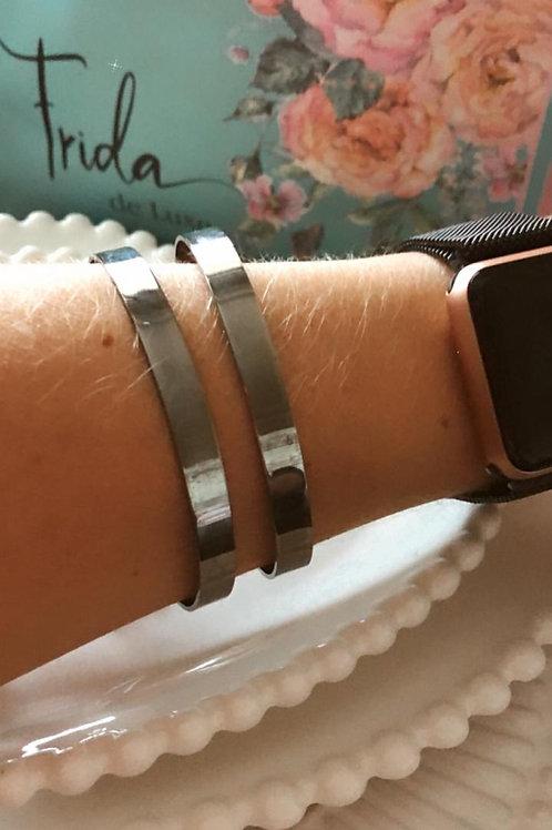 Bracelete ródio negro