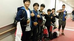 일본대회 참가 출국