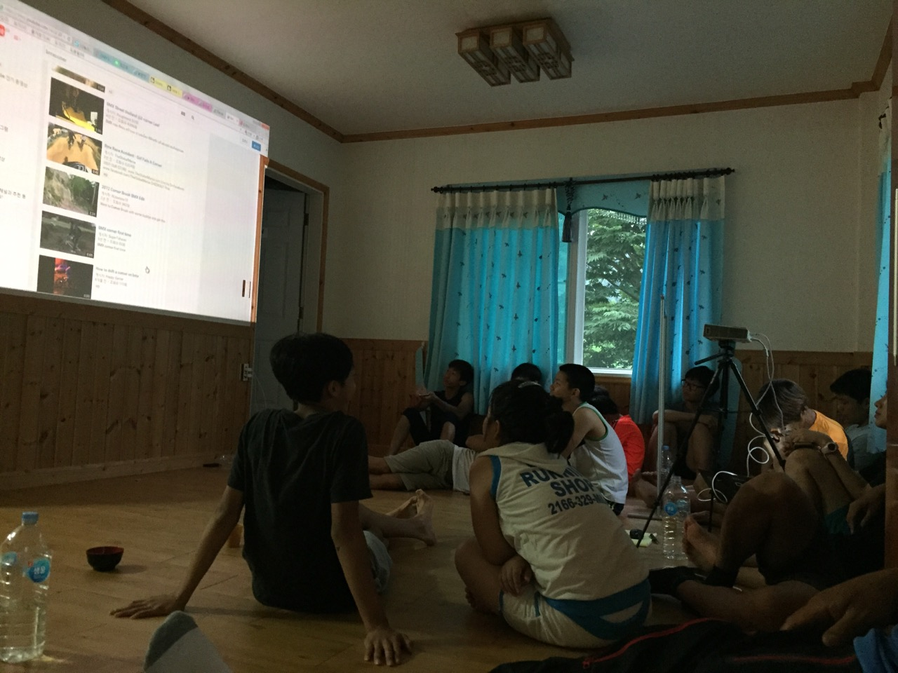 제천 여름캠프 영상교육
