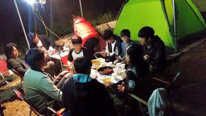 즐거운 캠프저녁식사