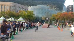 서울역광장 가설