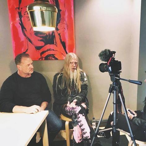 Marco Hietala and Timo Kangasluoma