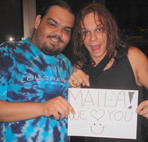 Producer Rodrigo Schelza and Eric Dover (Slash, Alice Cooper)