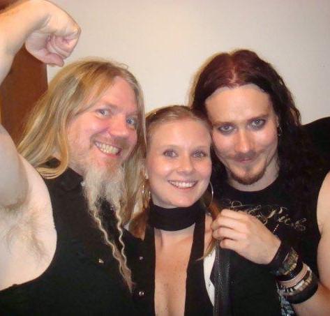 Marco Hietala and Tuomas Holopainen