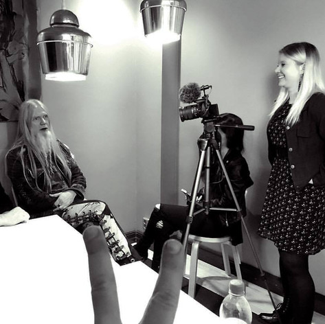 Interviewing Marco Hietala for A Heavy Metal Civilization