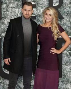 Aaron Ramsey and his Beautiful Wife