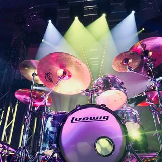 Drumset Lighting studio