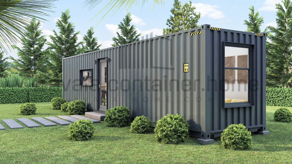 Home made from 40ft shiping container