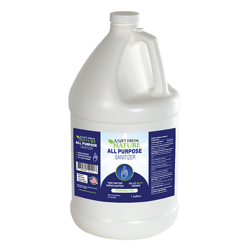 A Gift From Nature All Purpose Sanitizer 1 Gallon