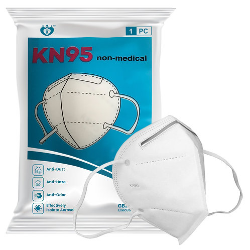 KN95 Breathing Mask 1pc Pack