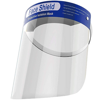 Protective Face Shield Clear Mask.png