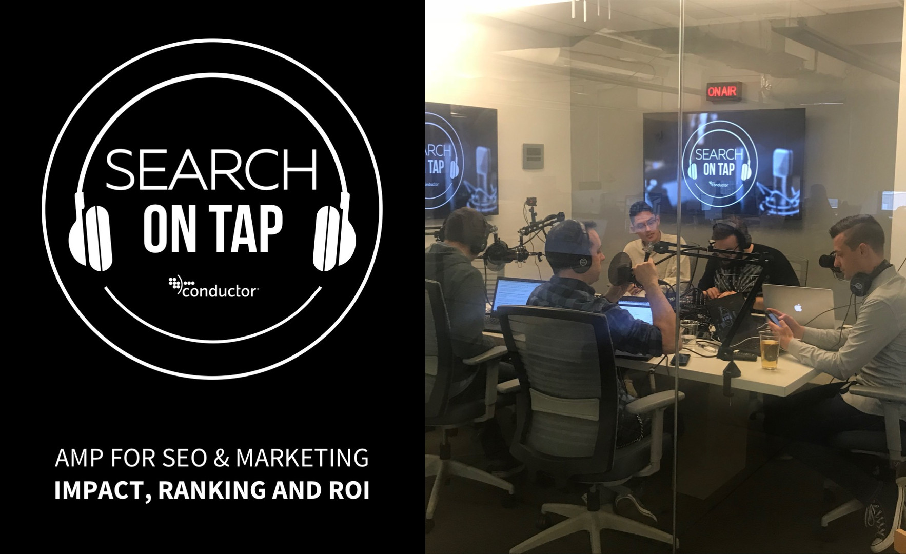 AMP For SEO & Marketing – Impact, Ranking, & ROI - Search On Tap  Podcast - Ep 10