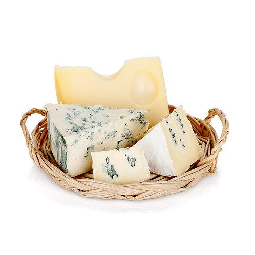 Udvalgte oste m. tilbehør