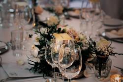 Højby Kro Bryllup bordækning