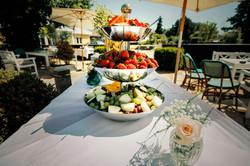 Højby kro Bryllup frisk frugt