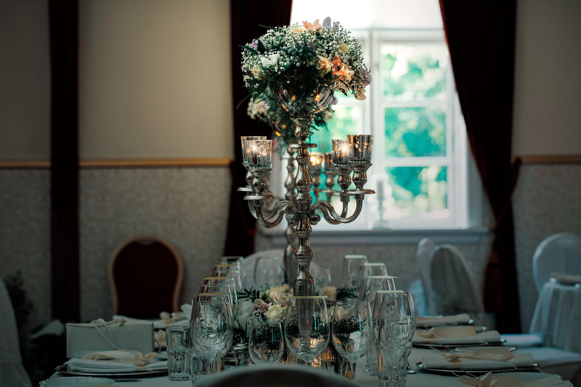 Højby Kro Bryllup dekoration