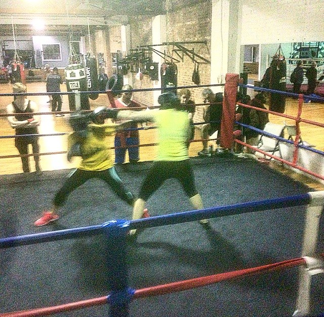 sparring 2