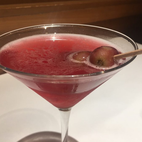 Christmas Pomegranate Martini