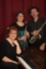 Joanne Bégin, Sylvie Duchesneau, Richard Lamontagne, trio Kontakto, musiciens classique, répertoire saxophone, flutes, clarinettes, piano, chanteurs,
