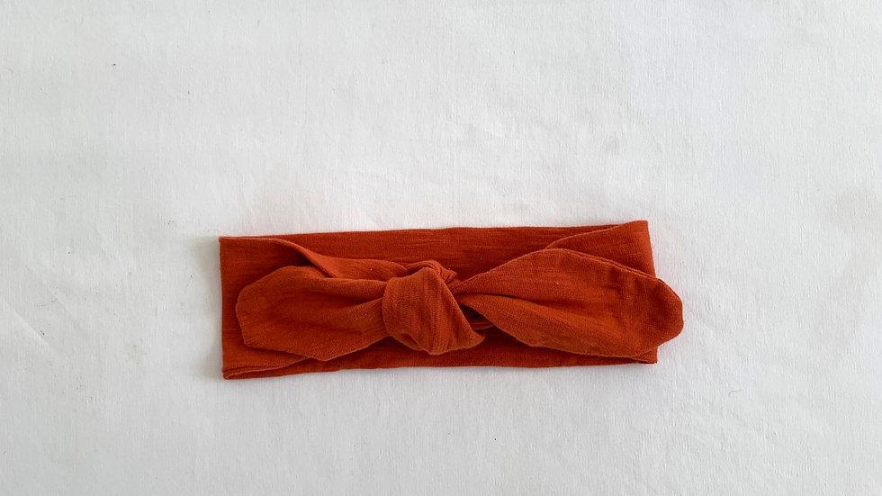 ORANGE Cotton Topknot