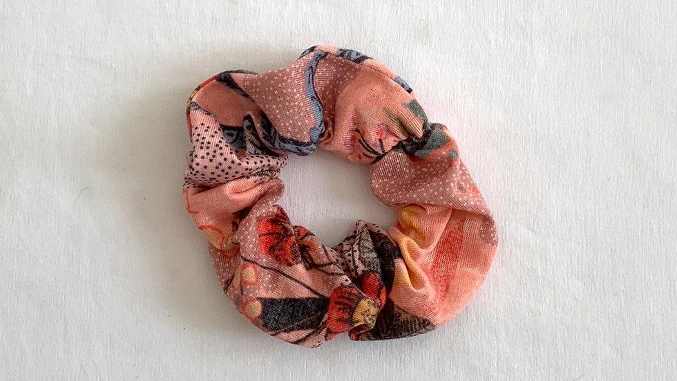 PEACH Cotton Scrunchie