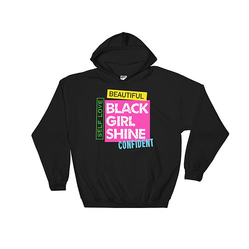 Fall Black Girl Shine Hoodie