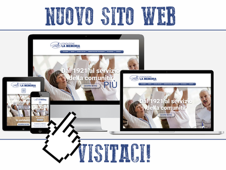Siamo online con il nuovo sito WEB!