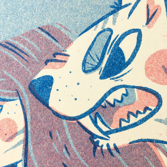 SPIRIT ANIMAL RISO PRINTS