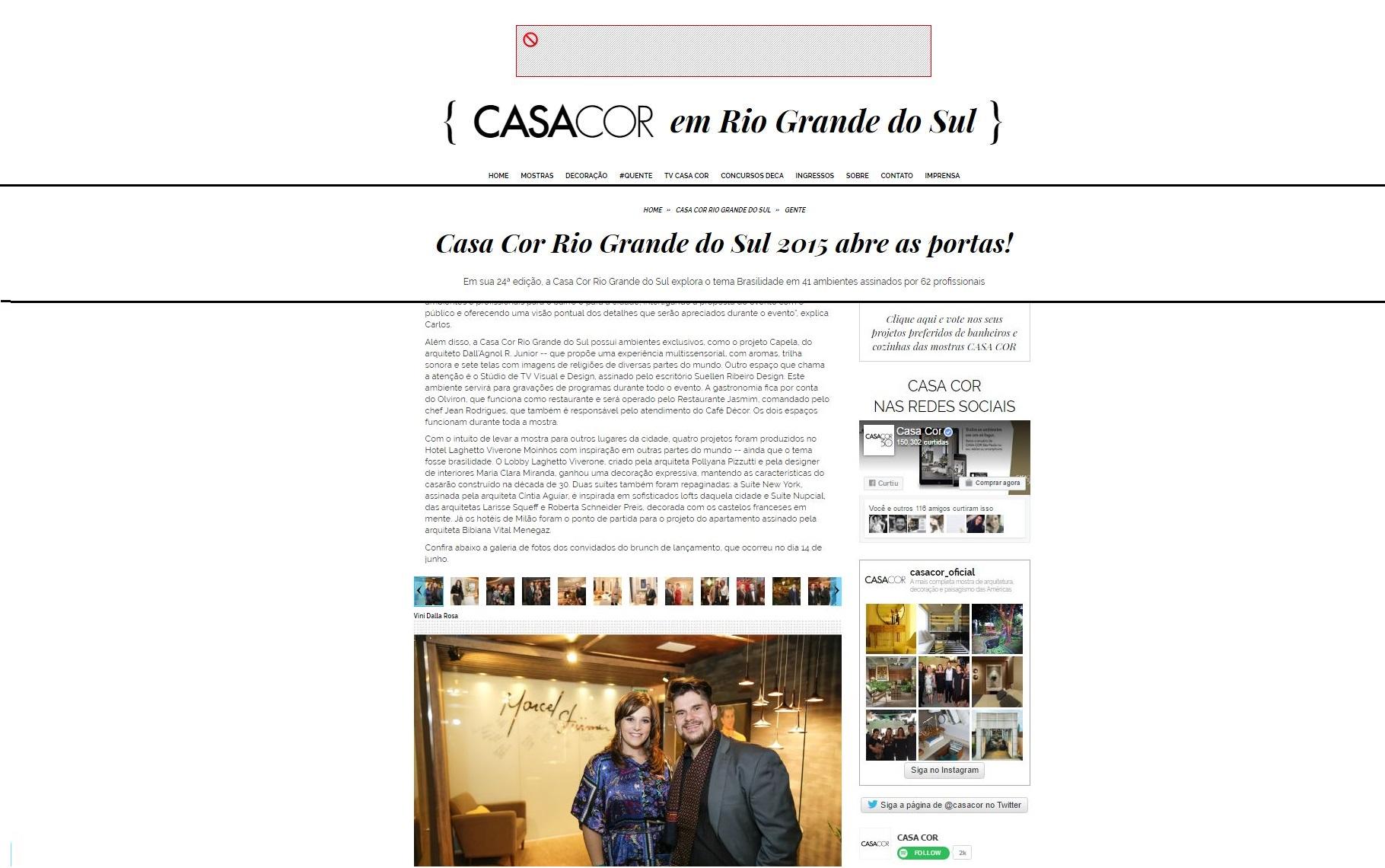 Site CASA COR
