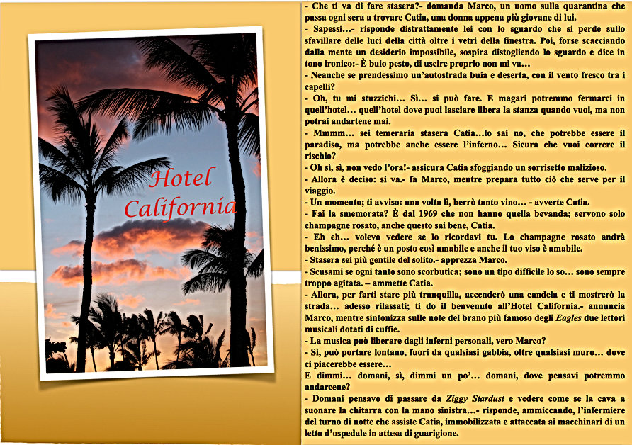 Hotel California Short Story