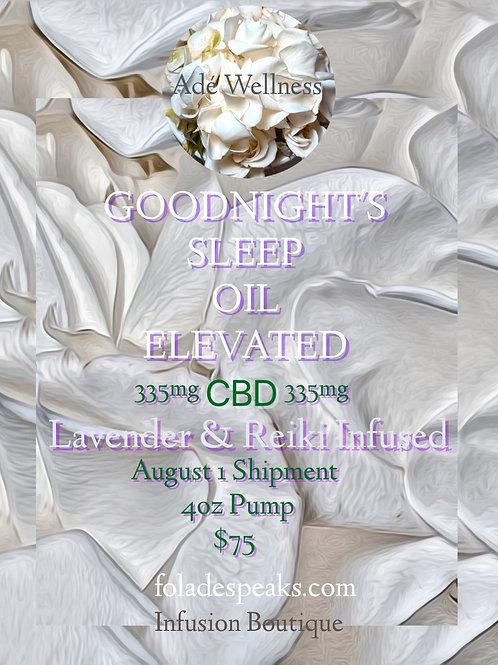 GOODNIGHT'S SLEEP CBD OIL ELEVATED pre-order