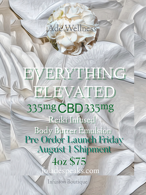 EVERYTHING ELEVATED CBD BUTTER Pre-Order