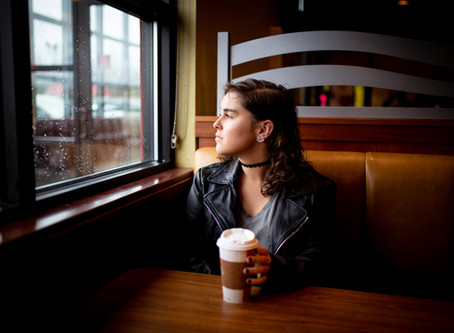 Rainy Days: Brittany's Portrait Session