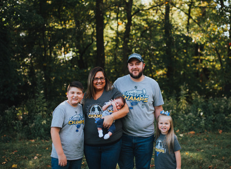 Love + Hockey : Lewis-Martin Family